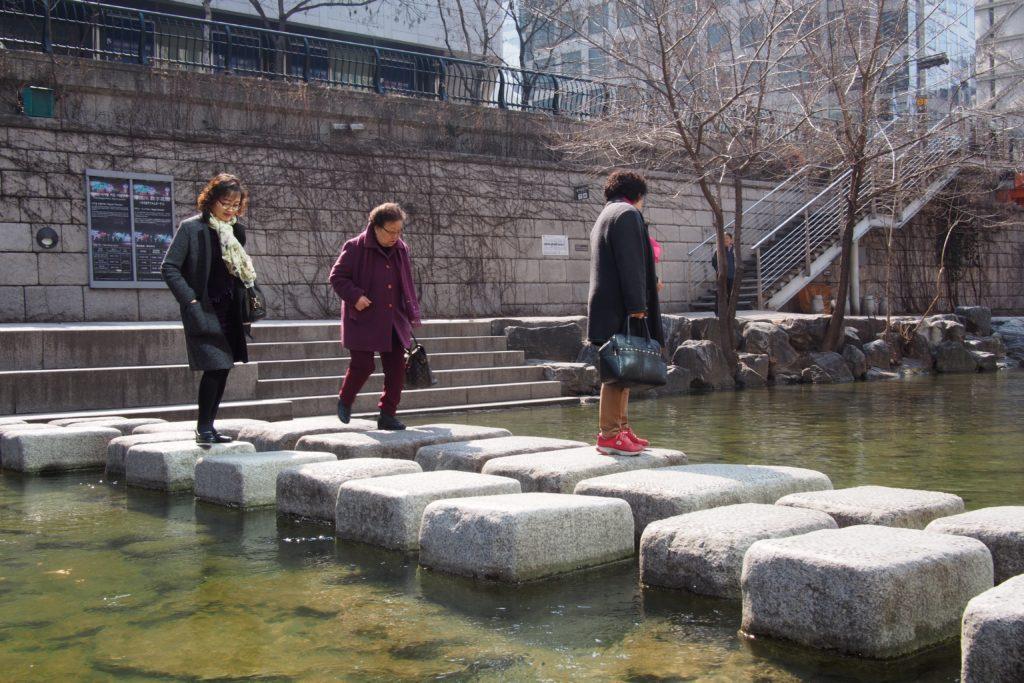 Cheonggyecheon Stream Seoul