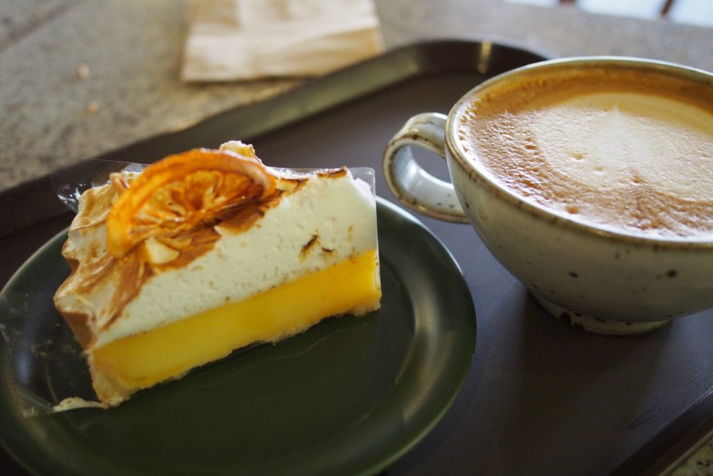 Coffee and Pie in Seoul
