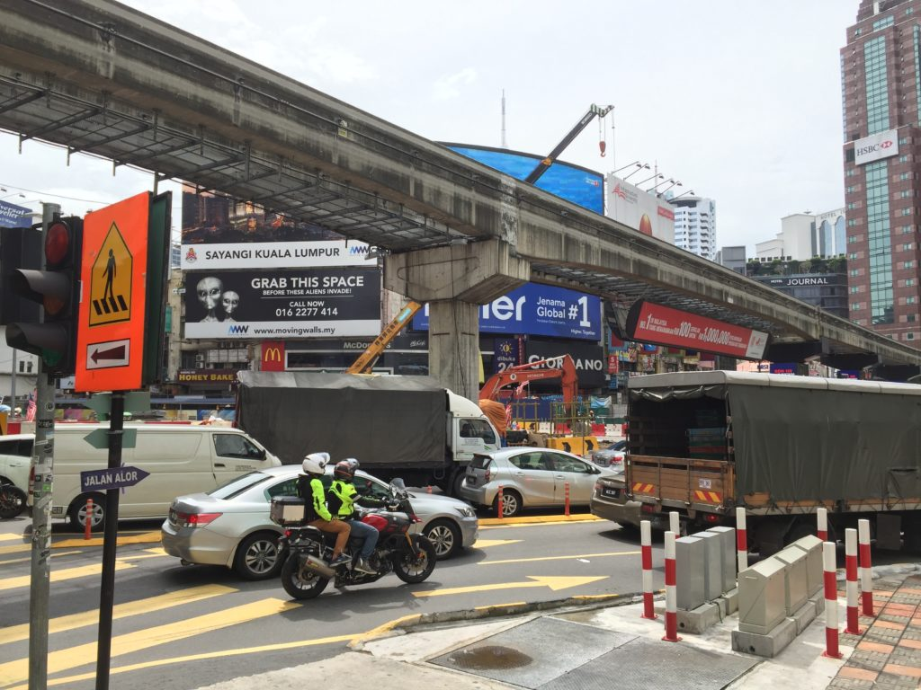 Jalan Bukit Bintang Intersection..