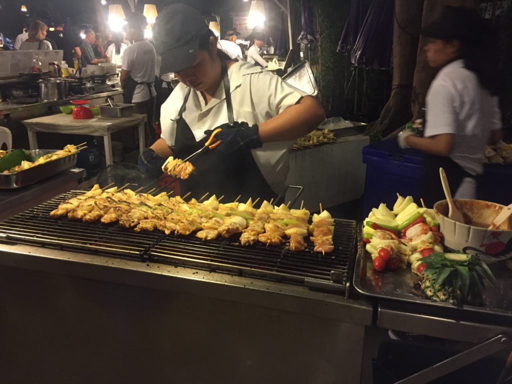 Western style food is hugely popular in Hua Hin and most certainly at Cicada Market...
