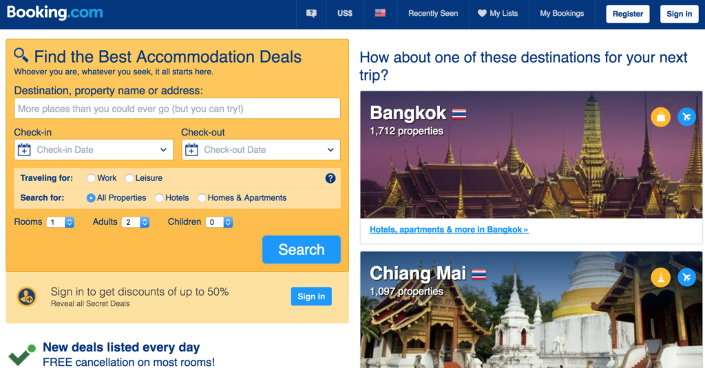 I've found better hotel discounts on Booking.com in Japan compared to Agoda.com...