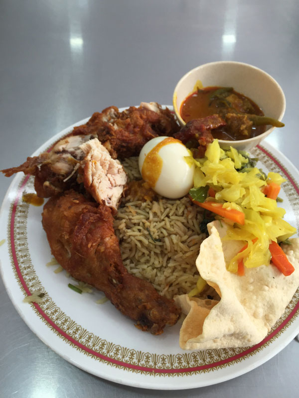 Nasi Kandar foods