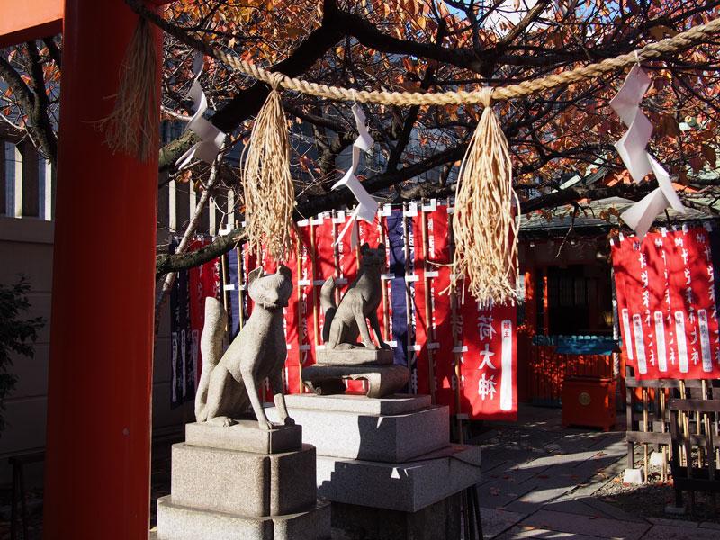 Temple at Midosuji