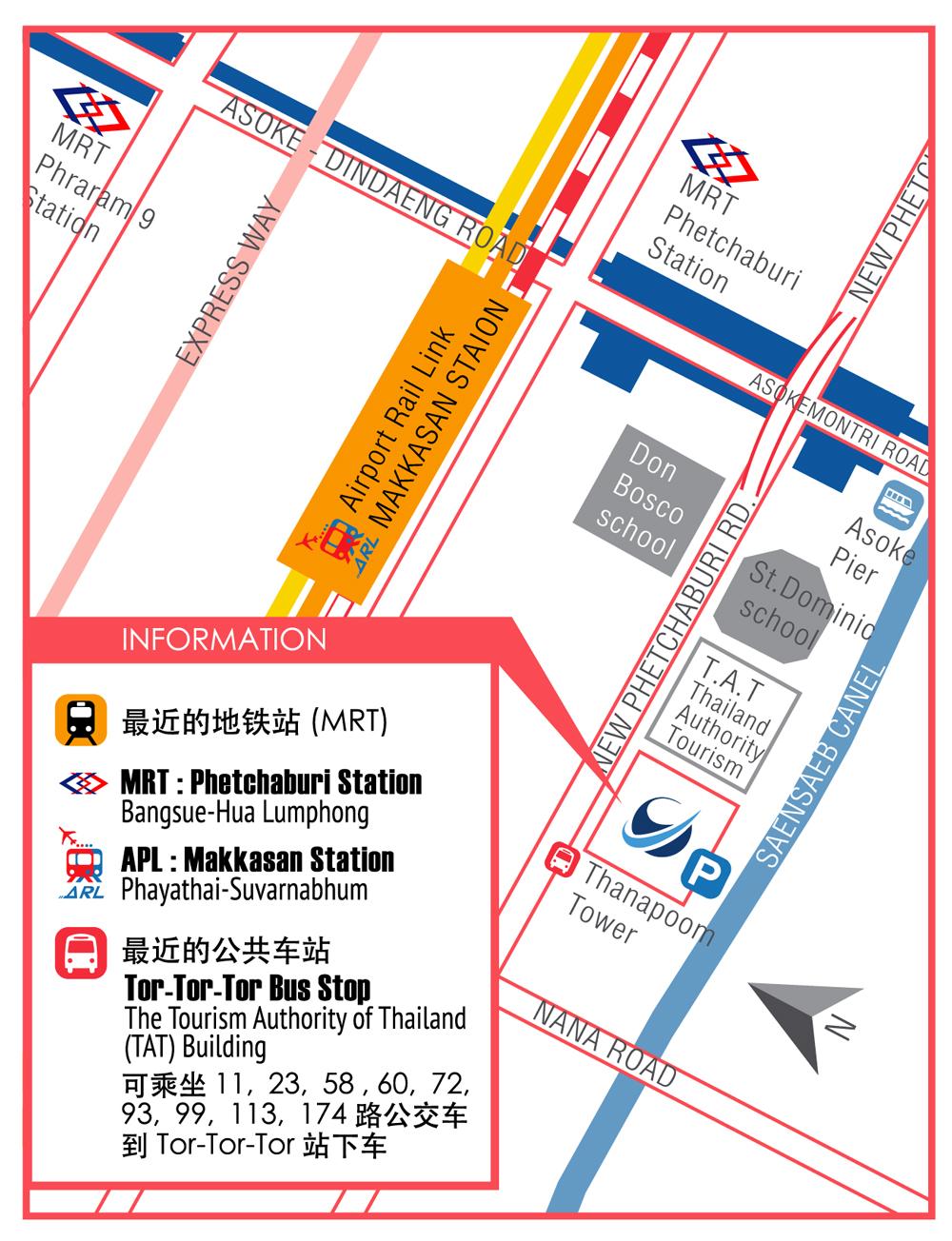 China Visa Application Service Center Bangkok Map The Wayfaring Soul